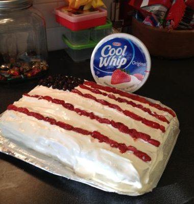 Desserts on a Budget: Flag Cake