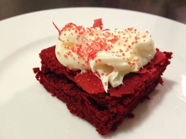 Dessert On A Budget Red Velvet Brownies For Nearly FREE