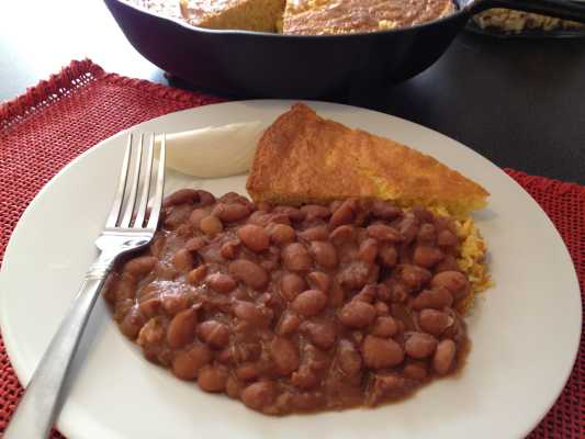 Soup Beans Kentucky Style Recipe - With homemade cornbread, it couldn't be easier.