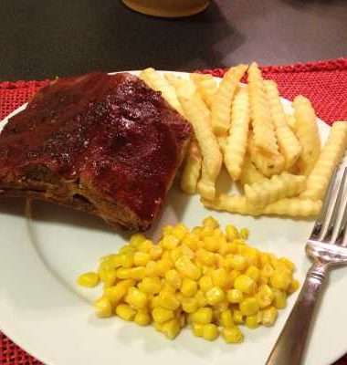 Meals on a Budget: Baby Back Ribs with Montgomery Inn Sauce