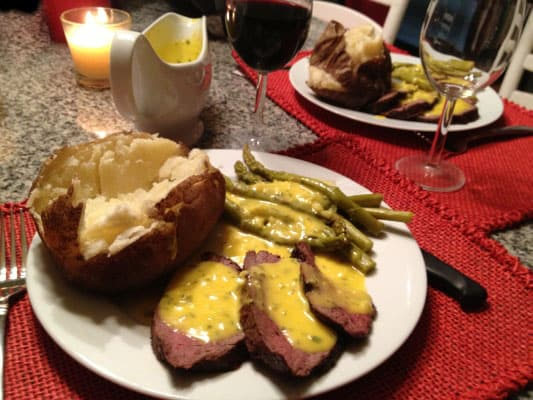 Chateaubriand Recipe - Eating good on the cheap requires a little extra work and careful shopping instead of as much money.