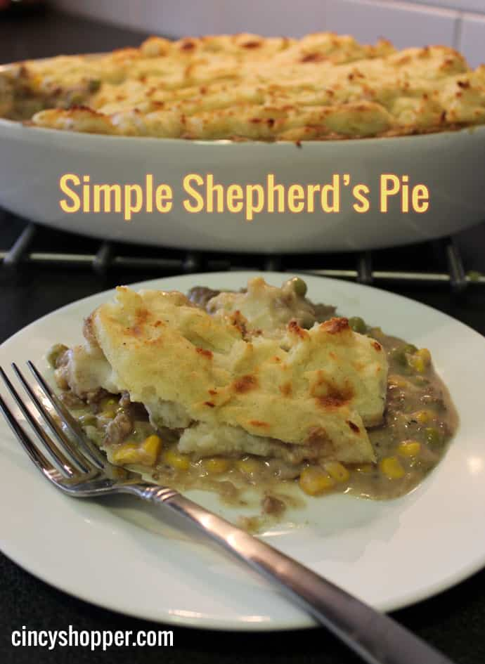 Meals on a Budget Recipe: Simple Shepherd's Pie