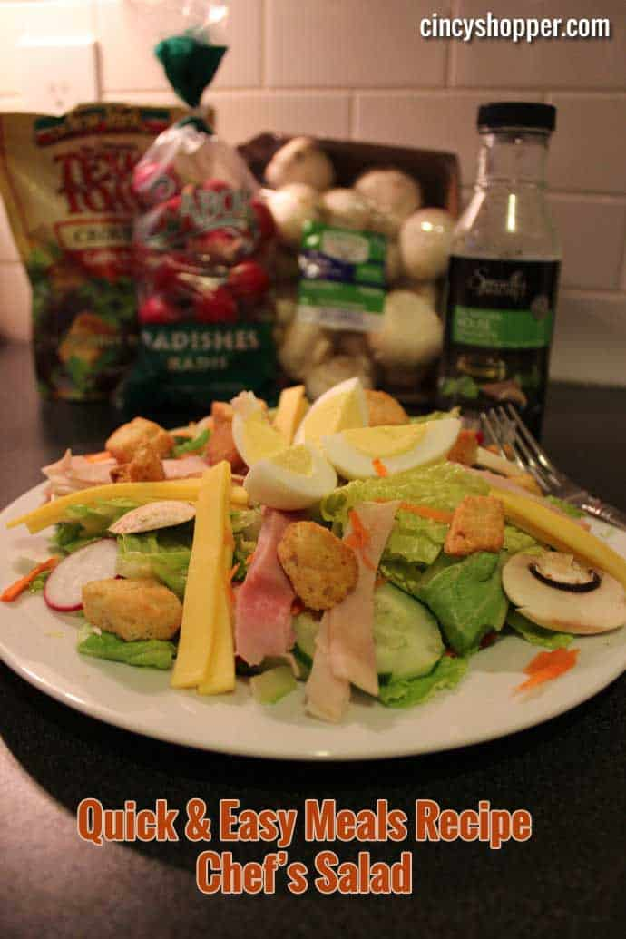 Quick & Easy Meals Recipe Chef's Salad