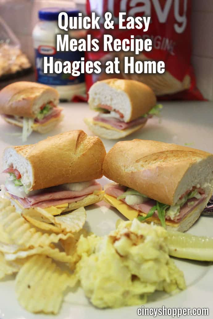 Quick and Easy Meals Recipe Hoagies at Home