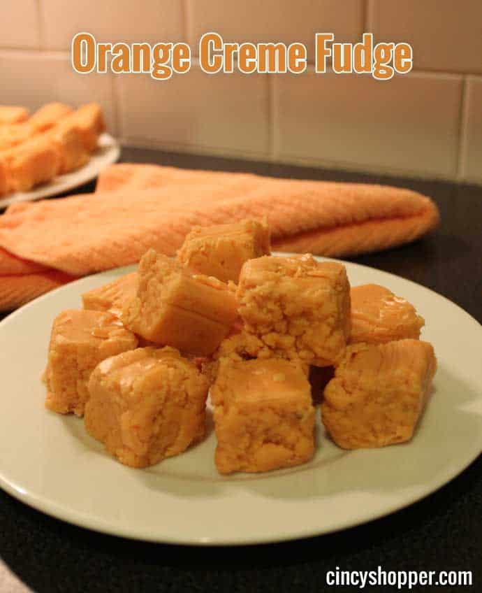 Orange Creme Fudge Recipe