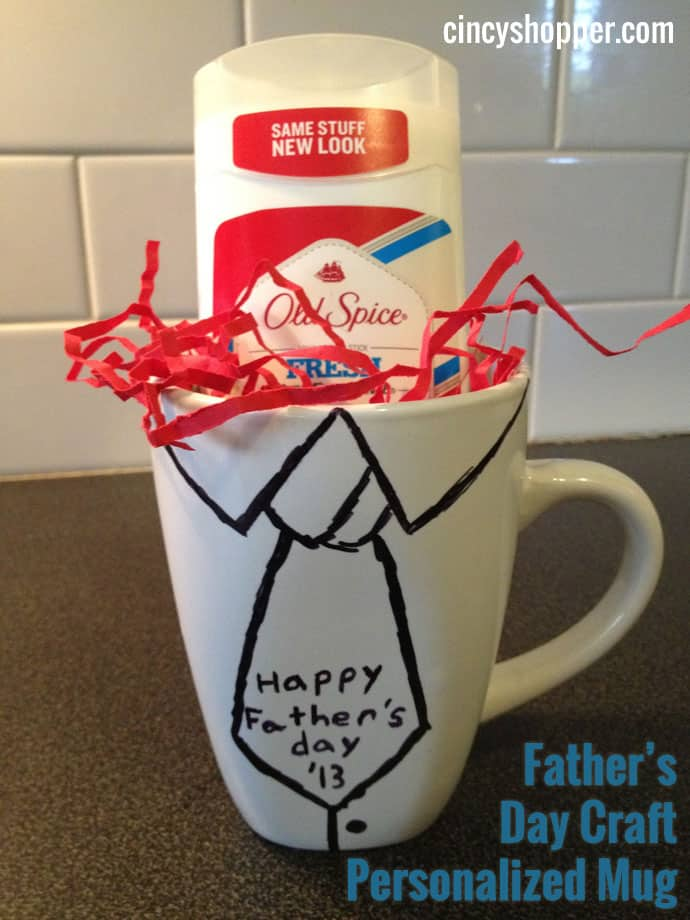 Father's Day Craft Personalized Mug for just $1