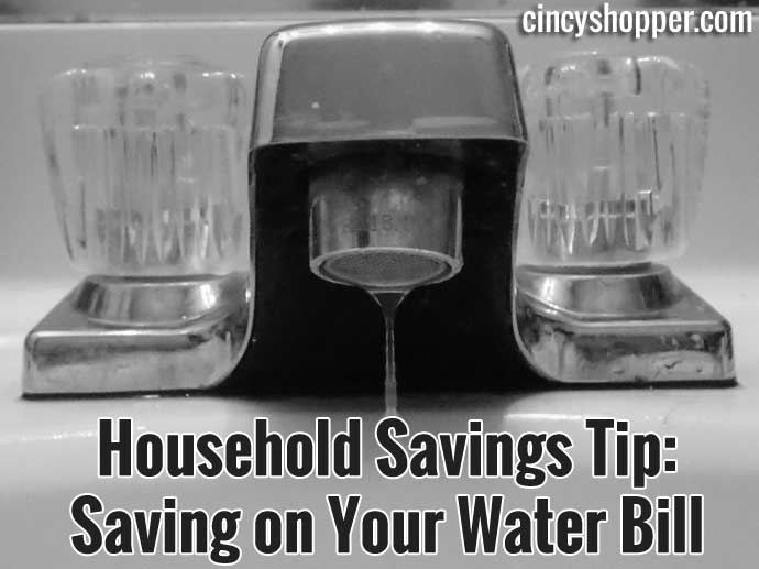 Saving On Your Water Bill
