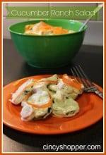 Cucumber Ranch Salad Recipe