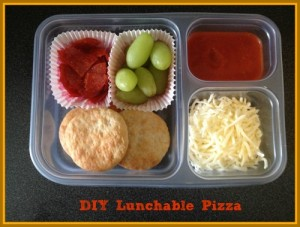 DIY Lunchable Pizza