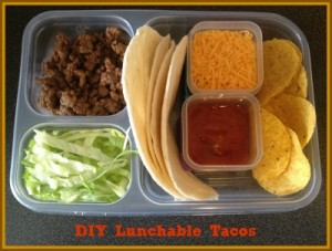 DIY Lunchable Tacos