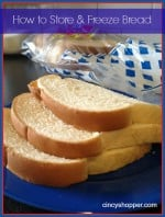 How to Store & Freeze Bread