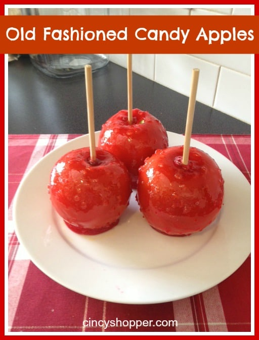 Old Fashioned Candy Apples