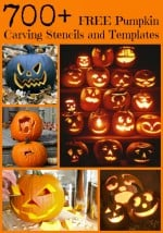 Over 700 FREE Pumpkin Carving Stencils and Templates