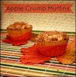 Apple Crumb Muffins Recipe