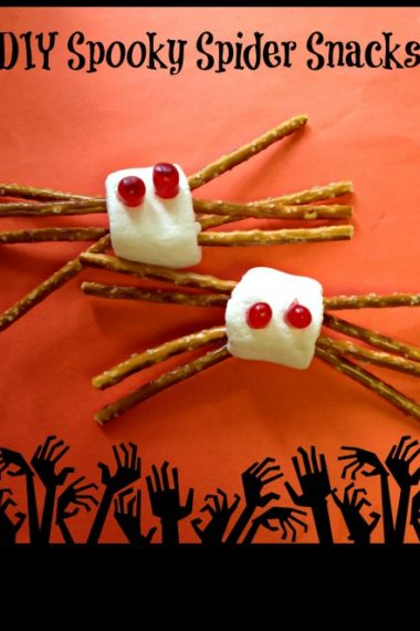 DIY Spooky Spider Snacks