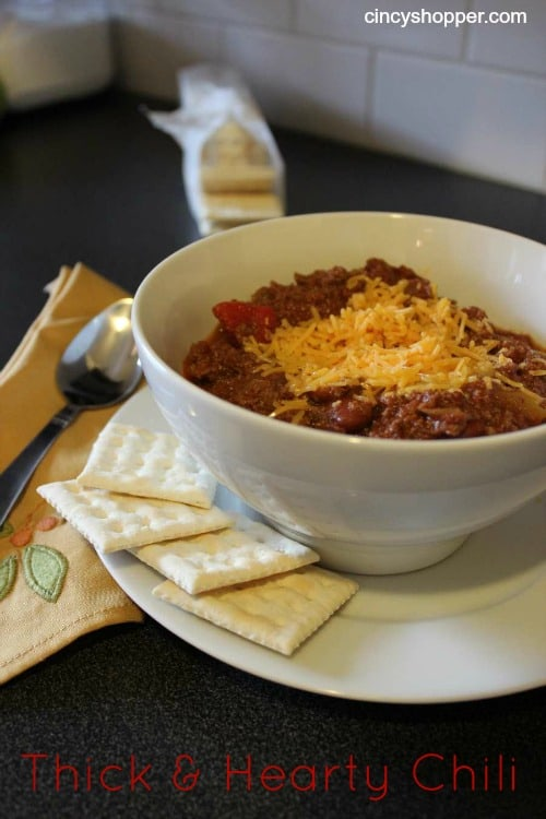 Thick & Hearty Chili Recipe