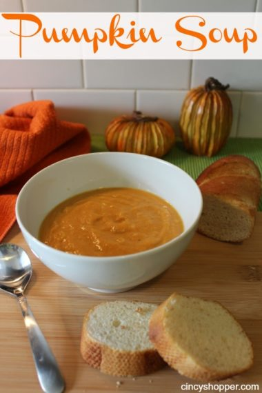 Quick & Easy Pumpkin Soup Recipe