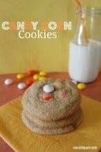 M&M's Candy Corn Cookie Recipe