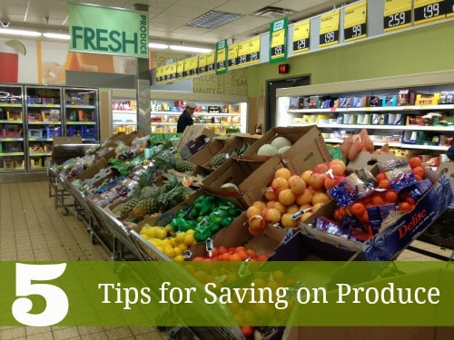 Tips for Saving on Produce