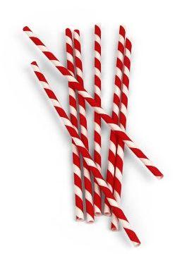 red-white-paper-straws