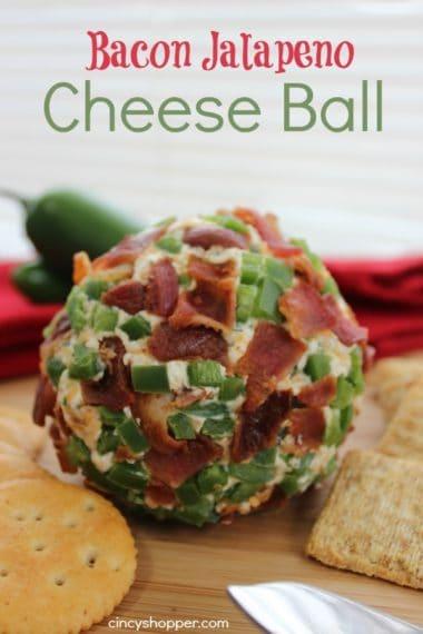 Bacon Jalapeno Cheese Ball