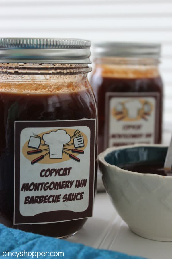 DIY Gift in a Jar CopyCat Montgomery Inn Barbecue Sauce