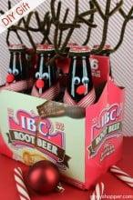 DIY Gift Reindeer Root Beer