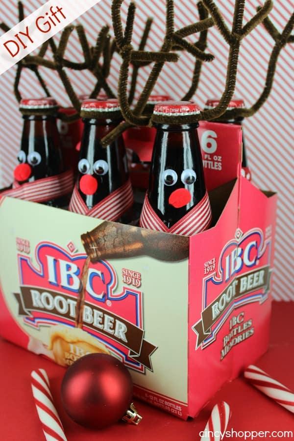 diy gift reindeer root beer cincyshopper. Black Bedroom Furniture Sets. Home Design Ideas