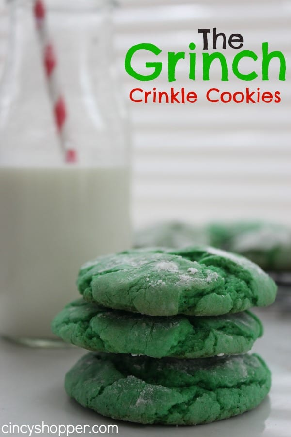 The Grinch Crinkle Cookies Cincyshopper