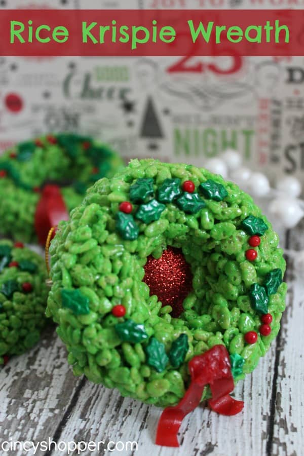 Rice-Krispie-Wreath