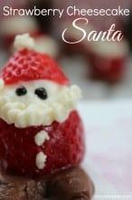 Strawberry Cheesecake Santa