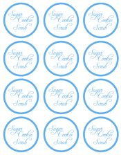 graphic relating to Printable Sugar Scrub Labels named Do it yourself Sugar Cookie Scrub with Cost-free Printable Label - CincyShopper
