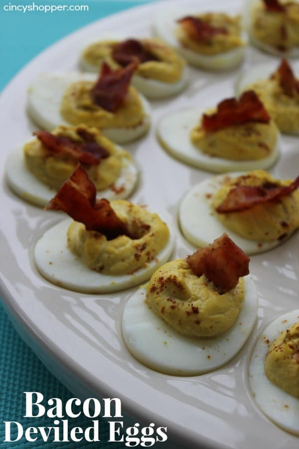Bacon Deviled Eggs - CincyShopper