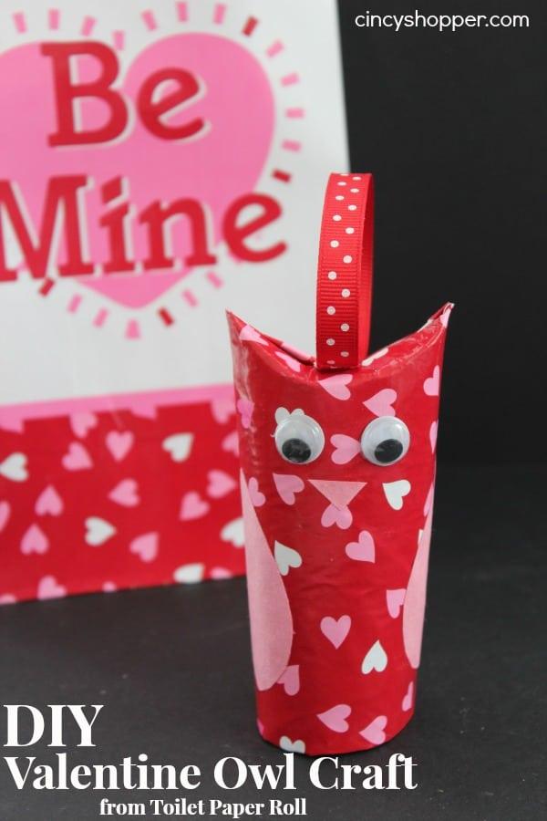 diy valentine owl craft - Valentine Paper Crafts