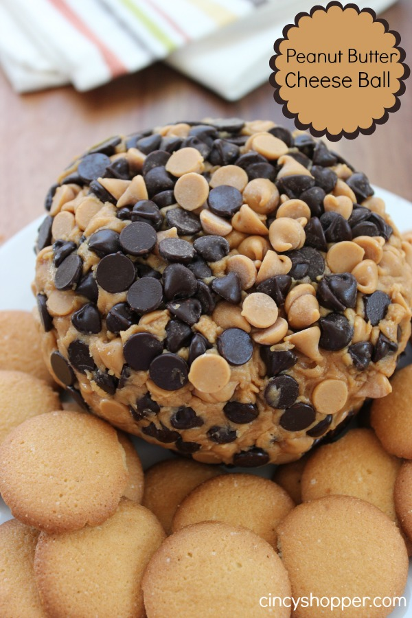 Peanut Butter Cheese Ball- Great party appetizer for all of the peanut butter fans. So easy too!