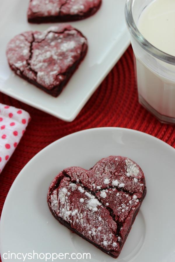 Red Velvet Valentine Cookie