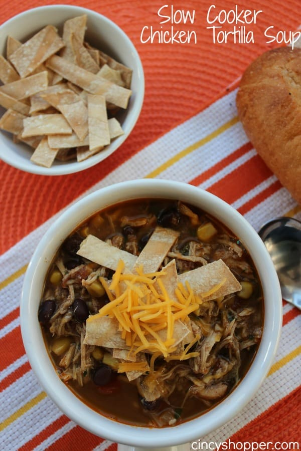 Slow Cooker Chicken Tortilla Soup - CincyShopper