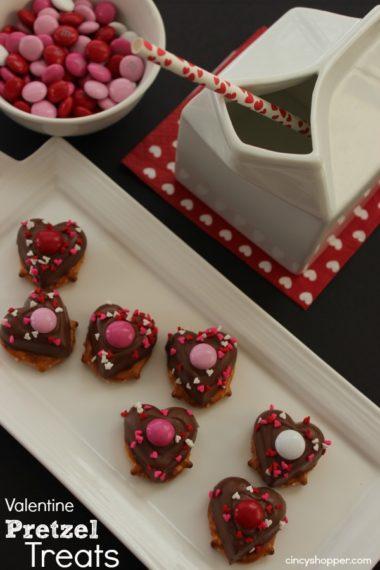 Valentine Pretzel Treats