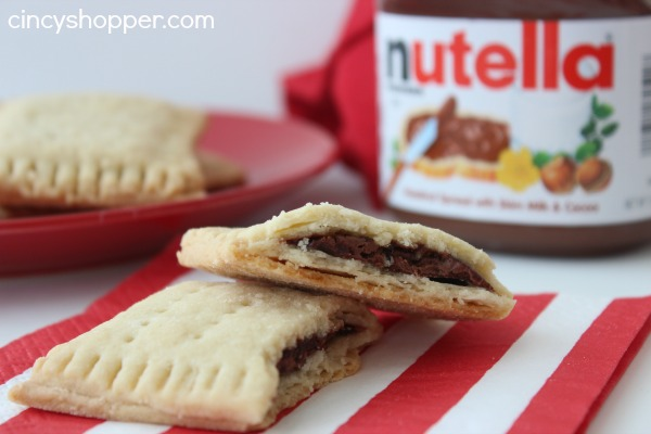Homemade Pop-Tarts with nutella 2