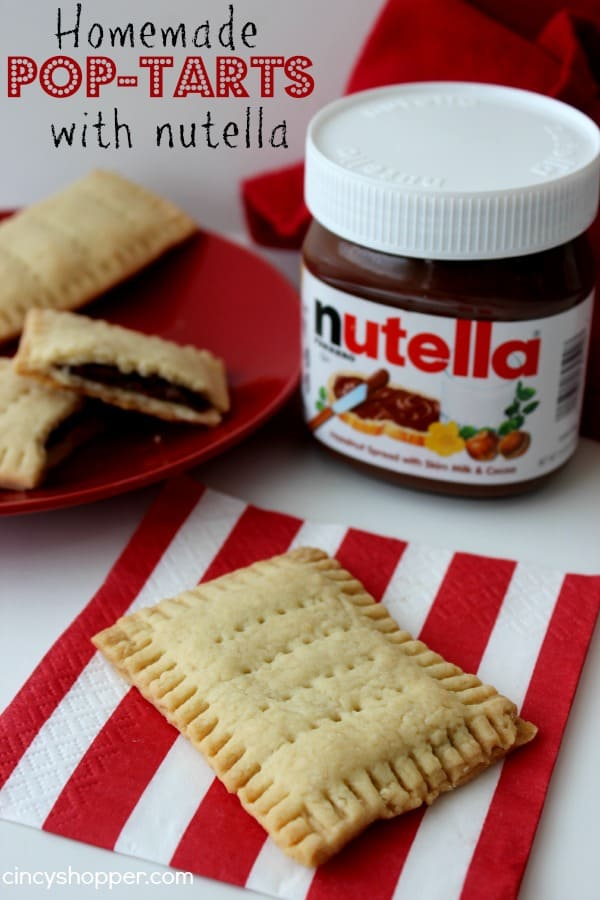 Homemade Pop-Tarts with Nutella - CincyShopper