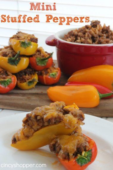 Mini Stuffed Peppers Recipe