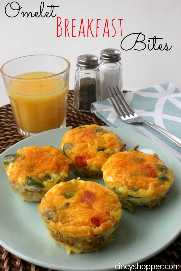 Omelet Breakfast Bites - CincyShopper