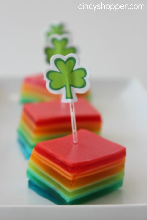 St-Patrick's-Day-Rainbow-Jell-O