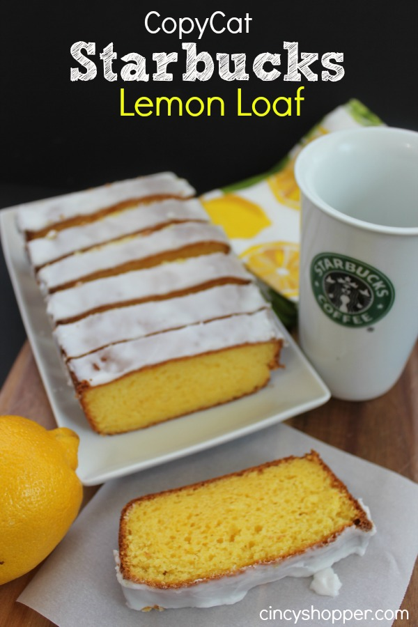 Starbucks Lemon Loaf Recipe With Cake Mix