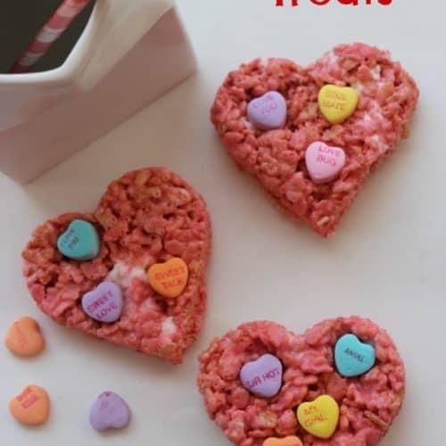 Valentine\'s Rice Krispie Treats - CincyShopper