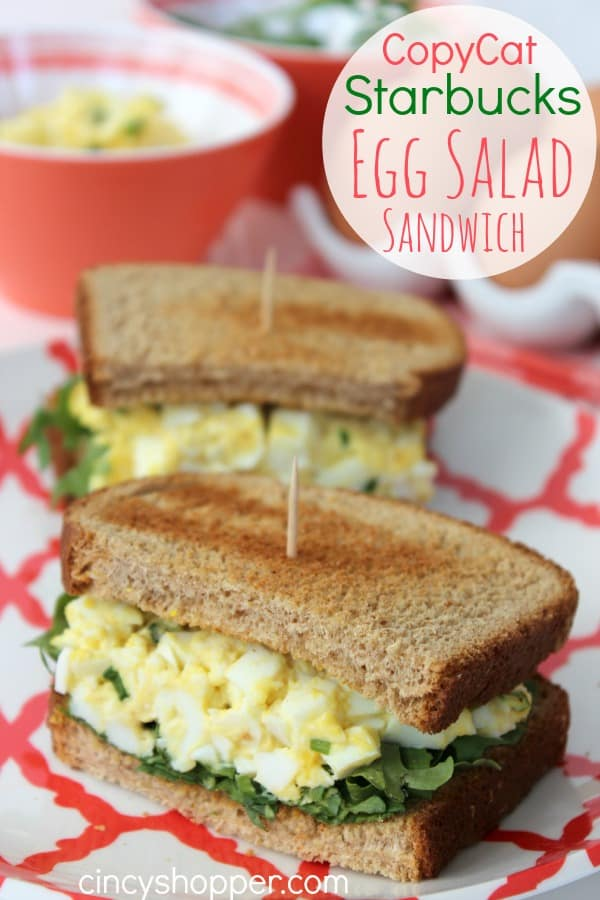 CopyCat Starbucks Egg Salad Sandwich Recipe