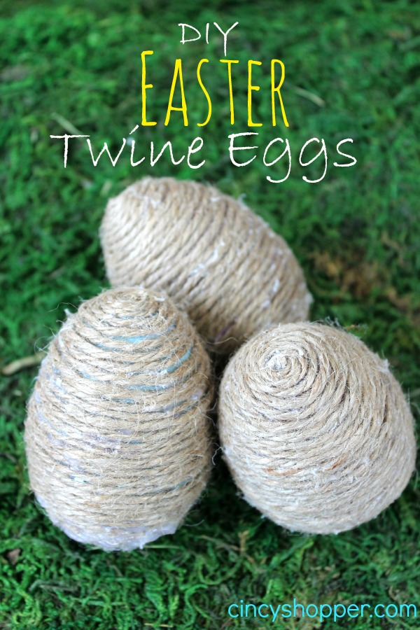 DIY Easter Twine Eggs 2