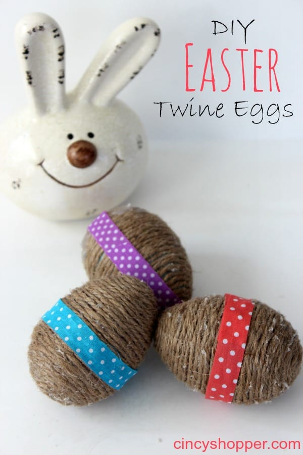 DIY Easter Twine Eggs