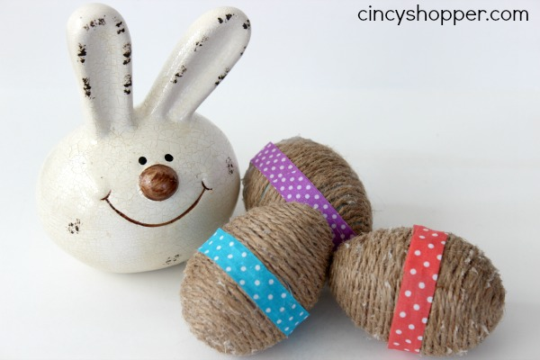 DIY Twine Easter Eggs 5