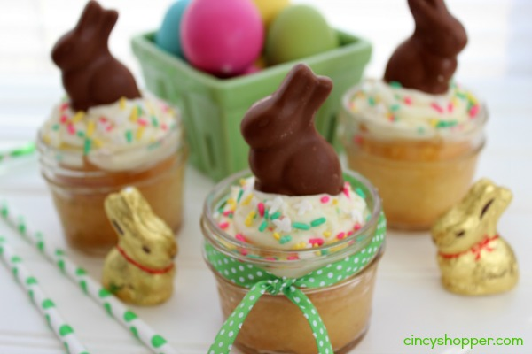 Easter Bunny Cake in a Jar Recipe